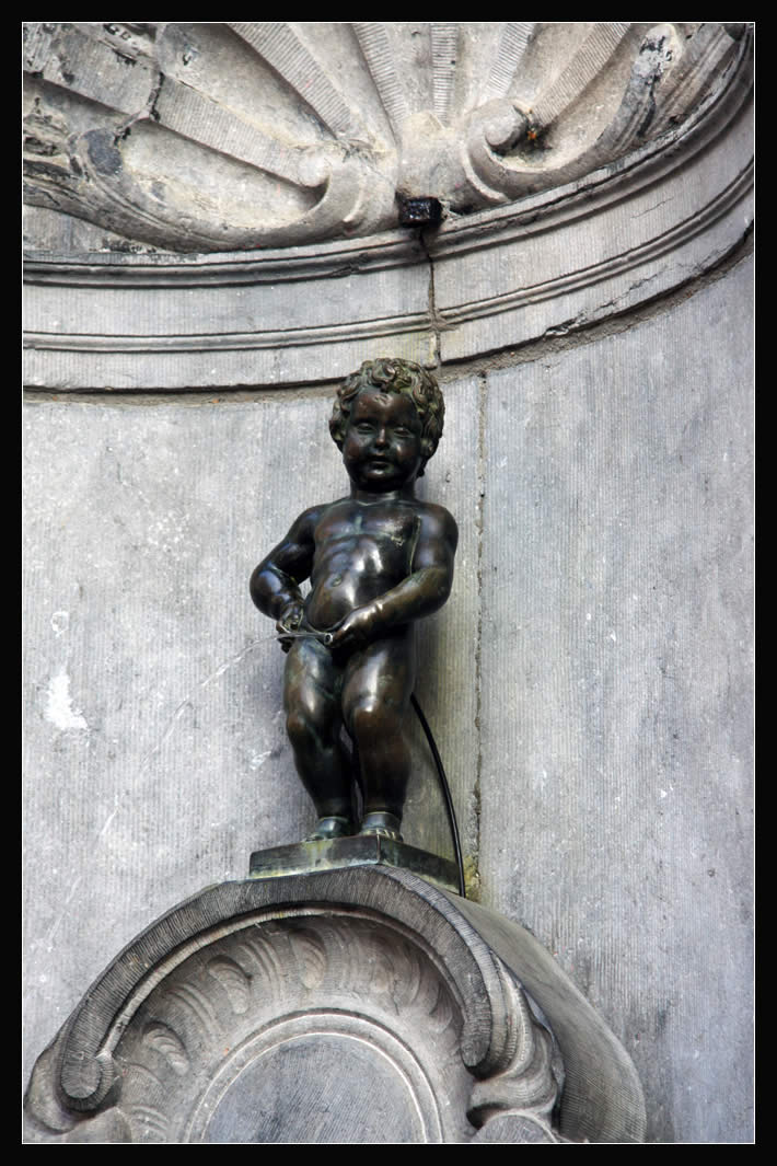 Manneke Pis in Brussels