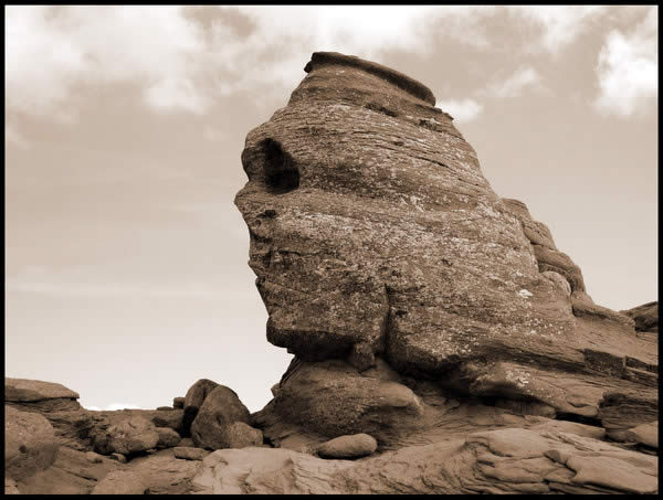 The Sphinx in Romania