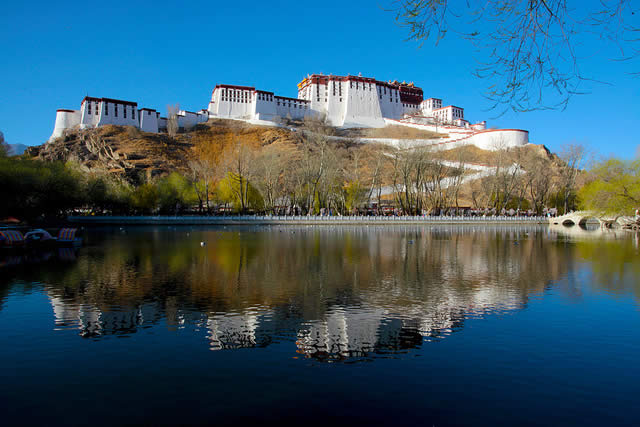 Potala Palace in Llasa