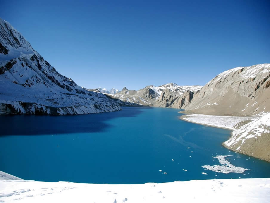 Tilicho Lake in Nepal