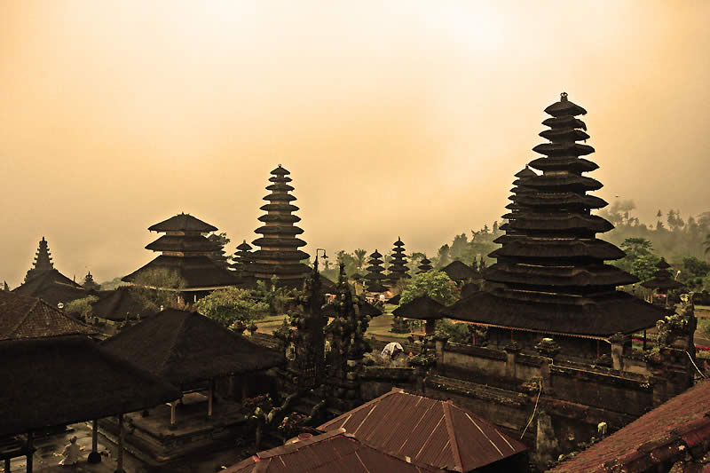 Temple of Besakih in Bali