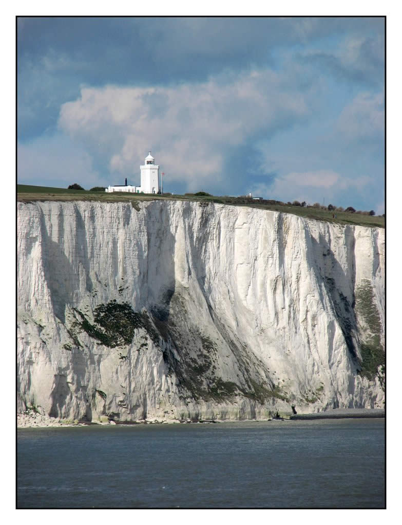 White Cliffs of Dover in Great Britain