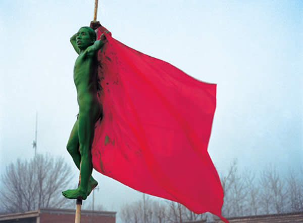 Green Guy · Flag
