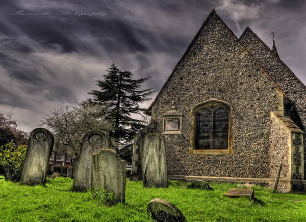 Cemetery HDR