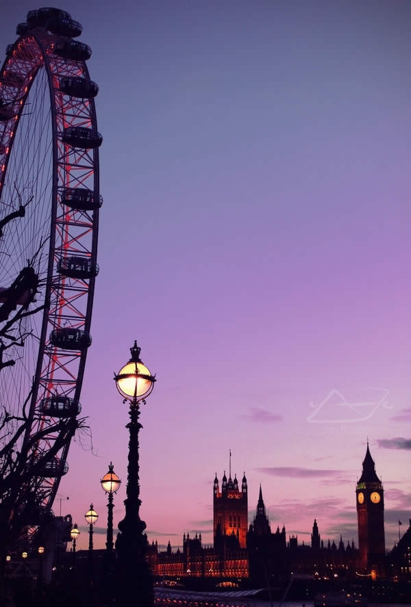 Лондон сумерки