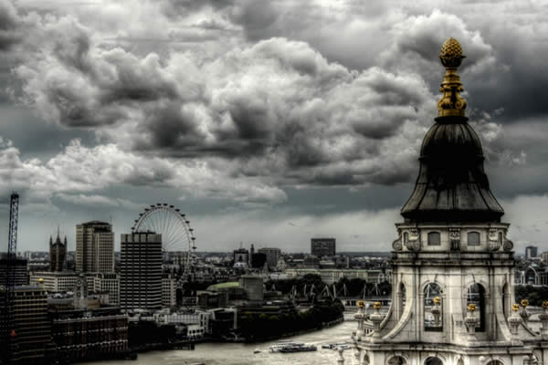 St Pauls Cathedral Pinnacle и London Eye