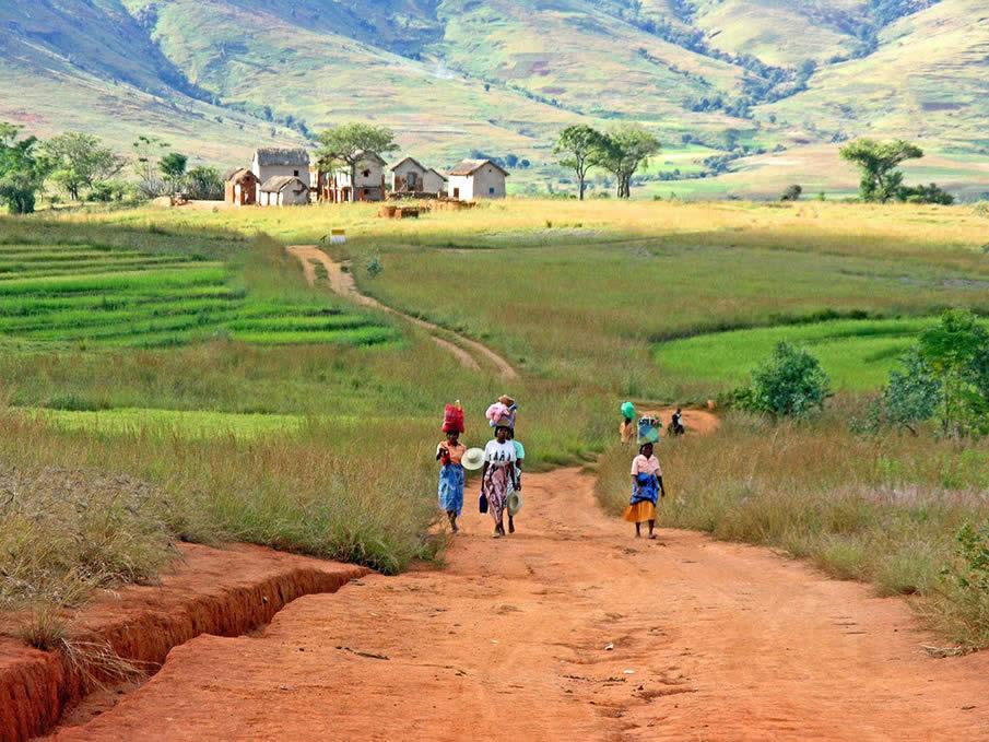 Женщины в Мадагаскар