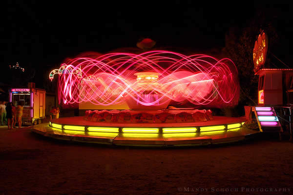 Neon Swirl Ride