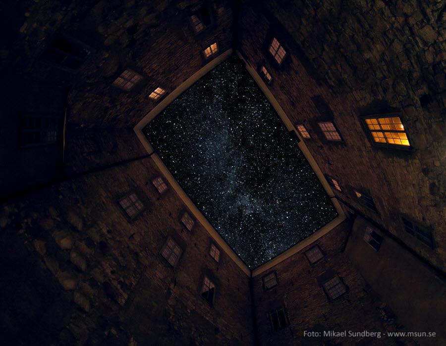 Örebro Slott Stjärnhimmel