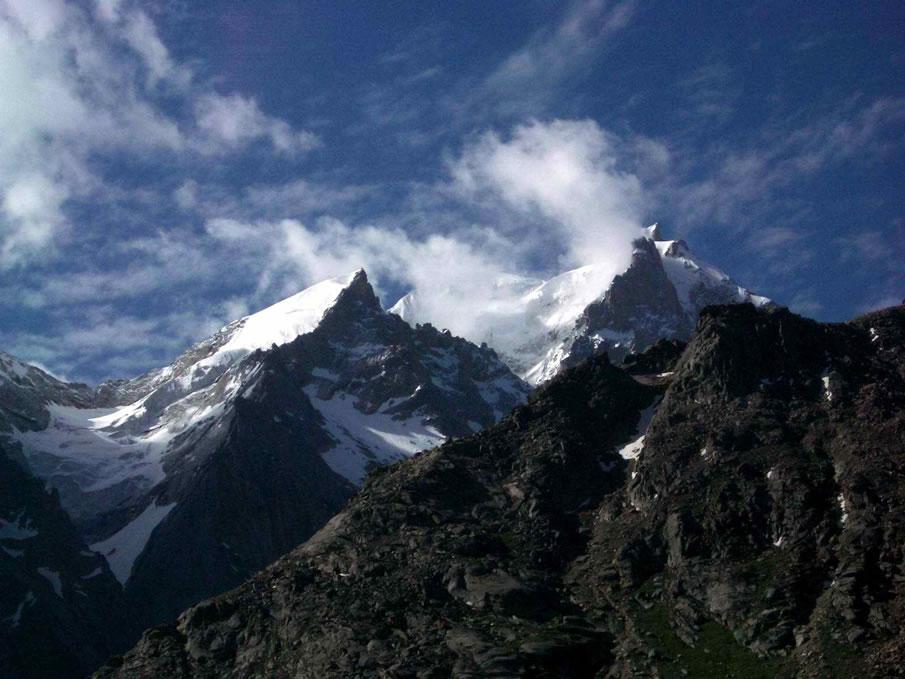 Lahul Mountian Peaks