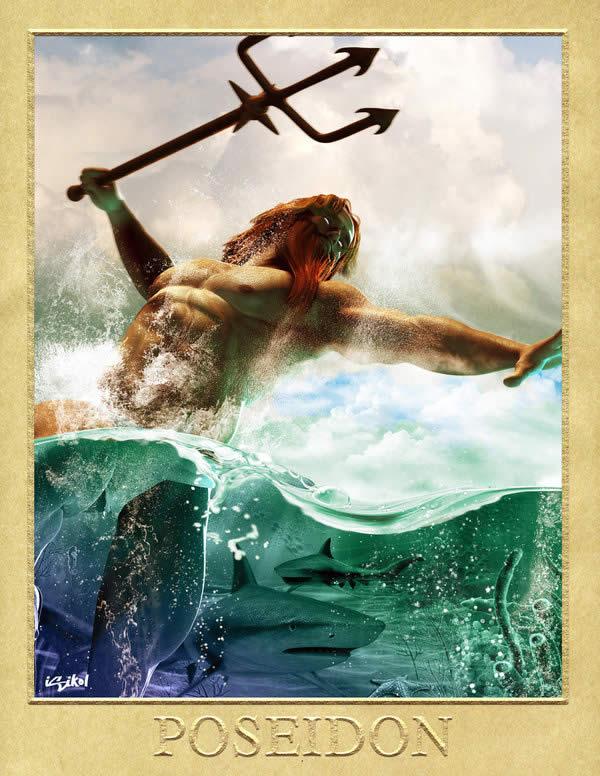 Poseidon - Greek God
