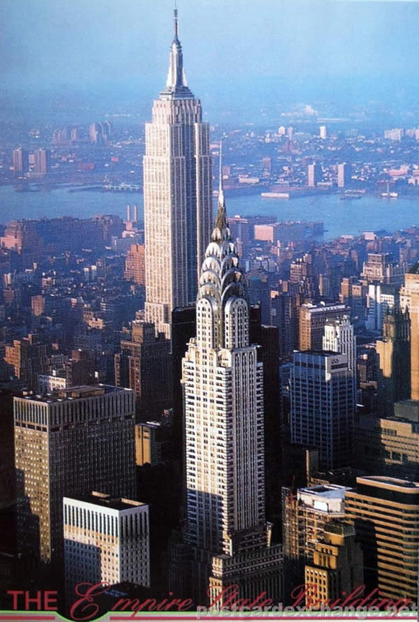 The Empire State Building in New York City