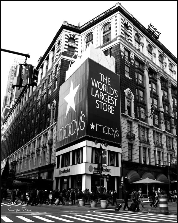 Macys Worlds Largest Store, New York City