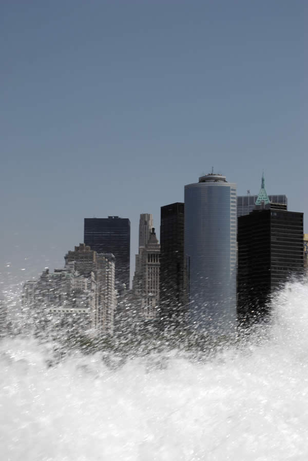 New York under the Wave