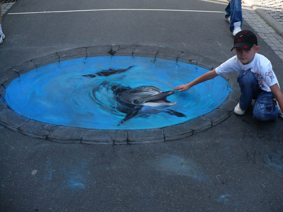 Dolphin and My Son