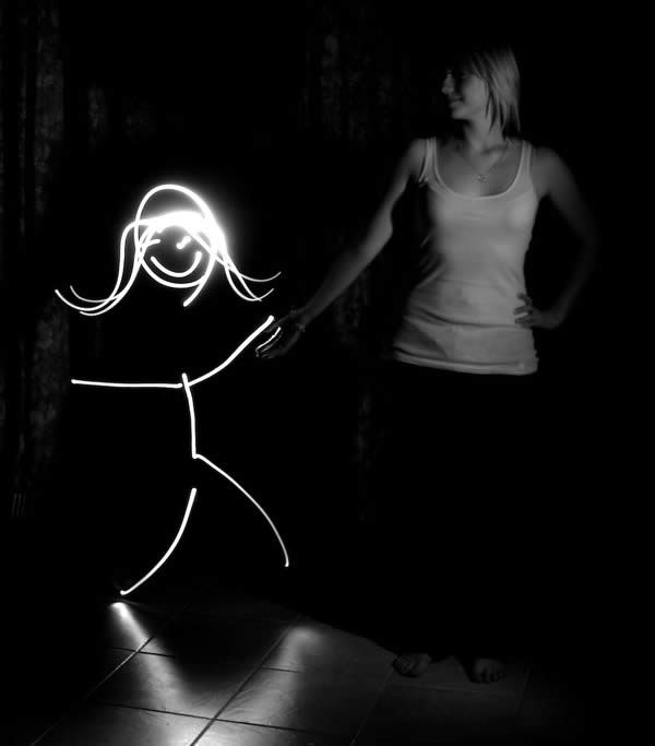 Light Painting - Friends