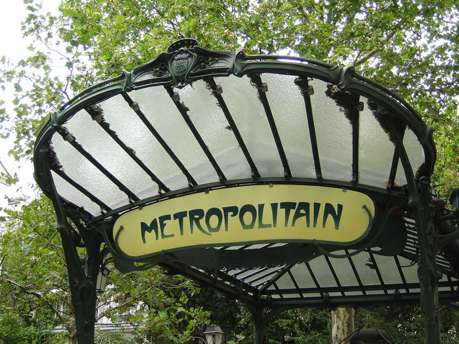 Metro entrance Abbesses
