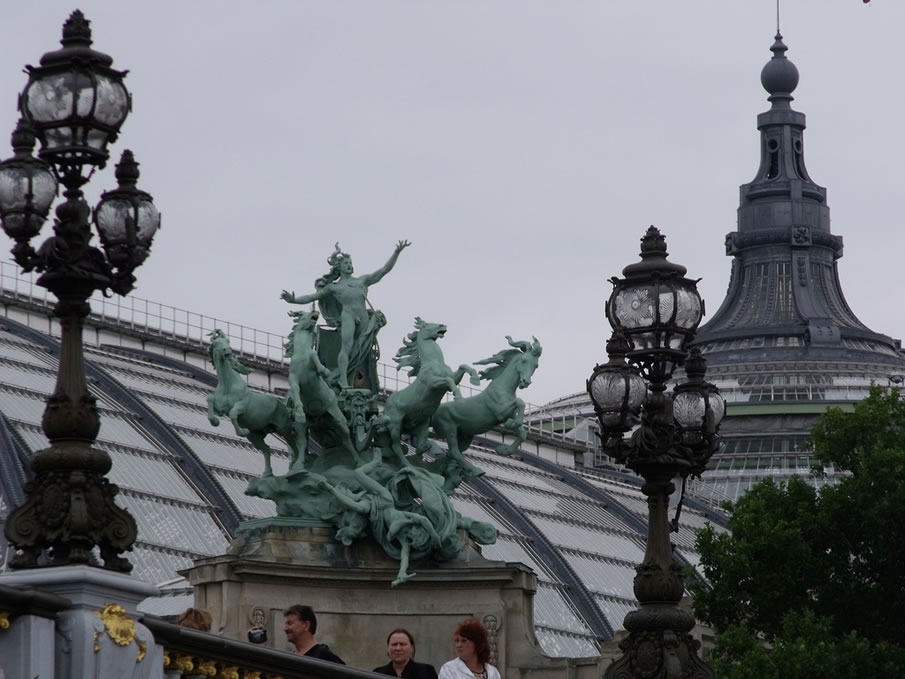 Grand Palais and Pont Alexandre