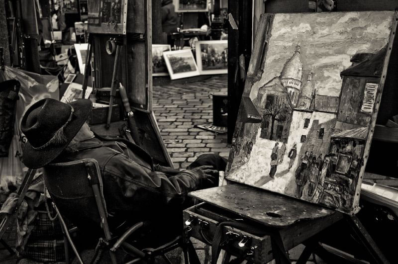 Painter at Montmartre
