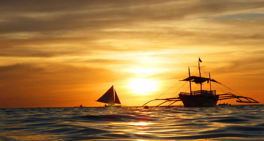 Филиппины Боракай Закат