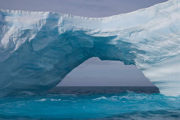 Iceberg with an Arch