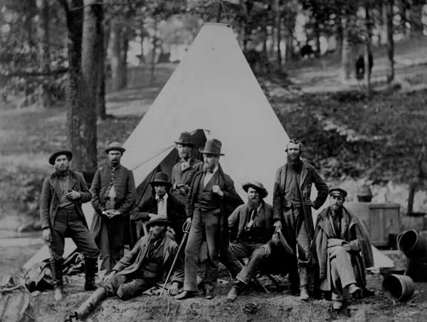 Scouts and guides for the Army of the Potomac