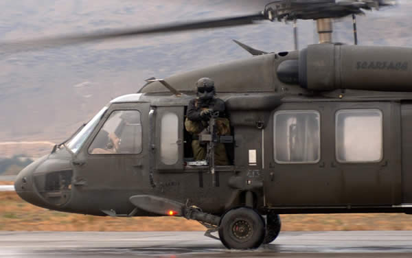 Scary... Black Hawk Helicopter