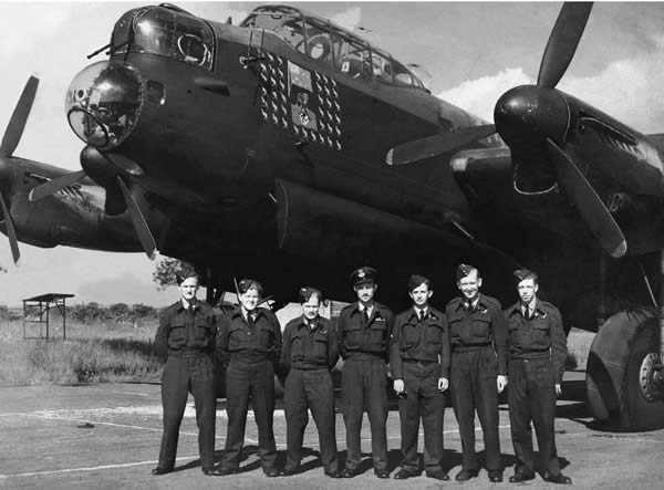 Photo of Unidentified Lancaster Bomber