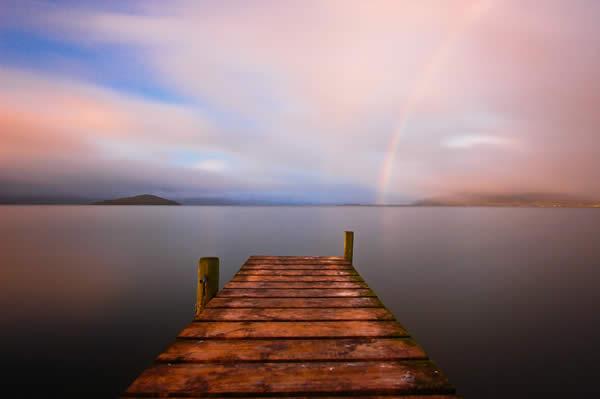Lake Rotorua Rainbow