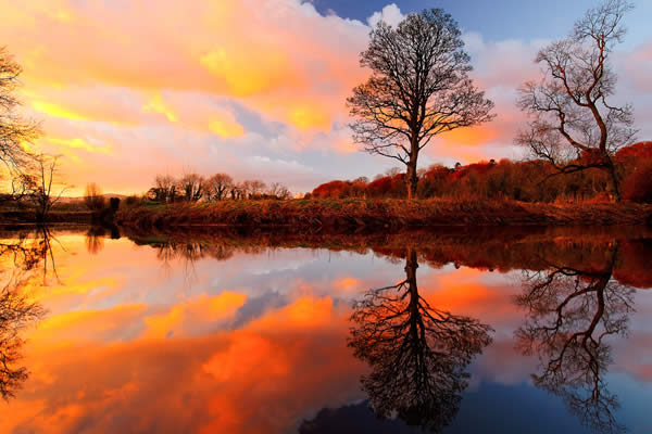 Reflections at Drum Bridge
