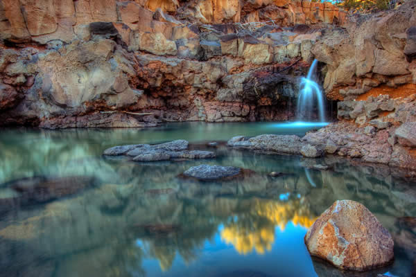 Waterfall....No Moss!