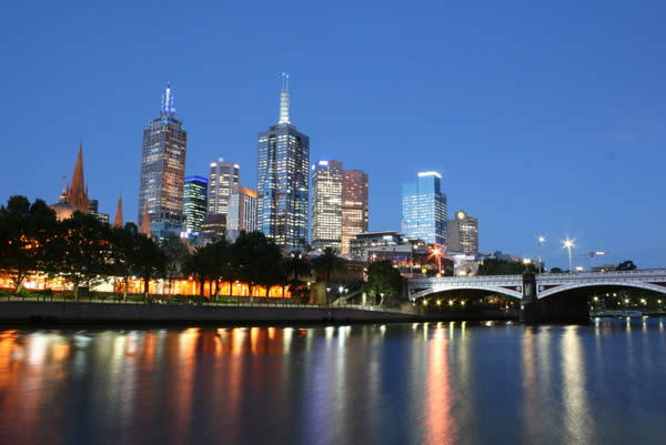 The Yarra River in Melbourne Australia