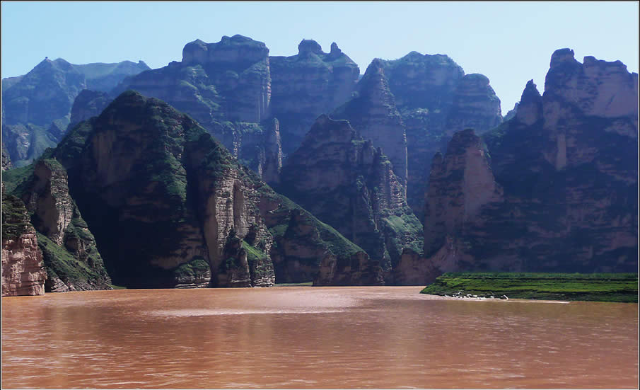 Yellow River in China