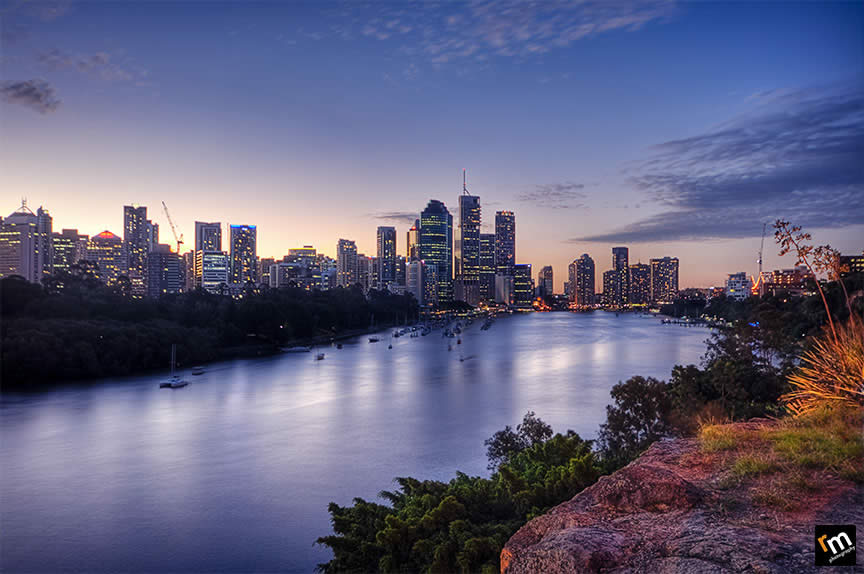 Brisbane River in Australia