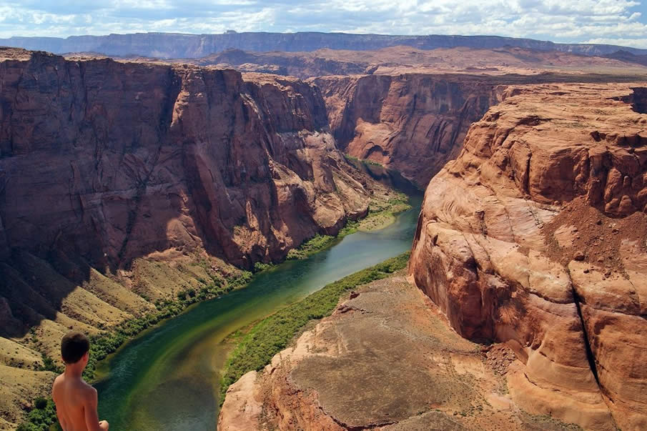 Colorado River in the USA