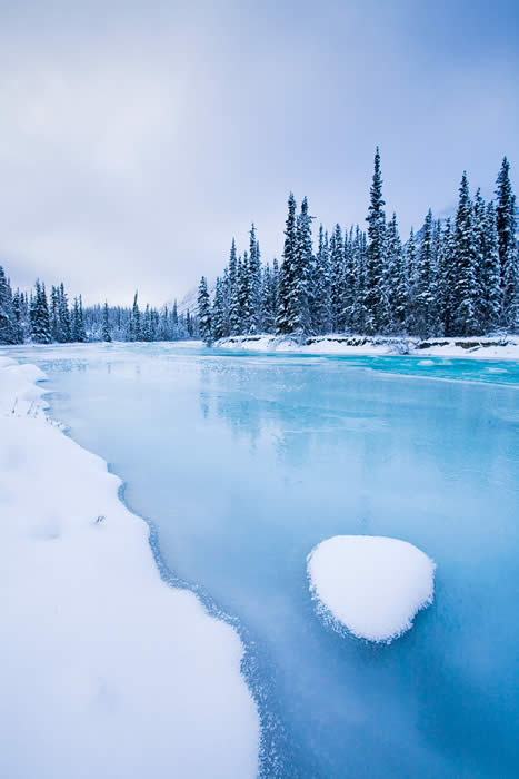 Wheaton River in Canada