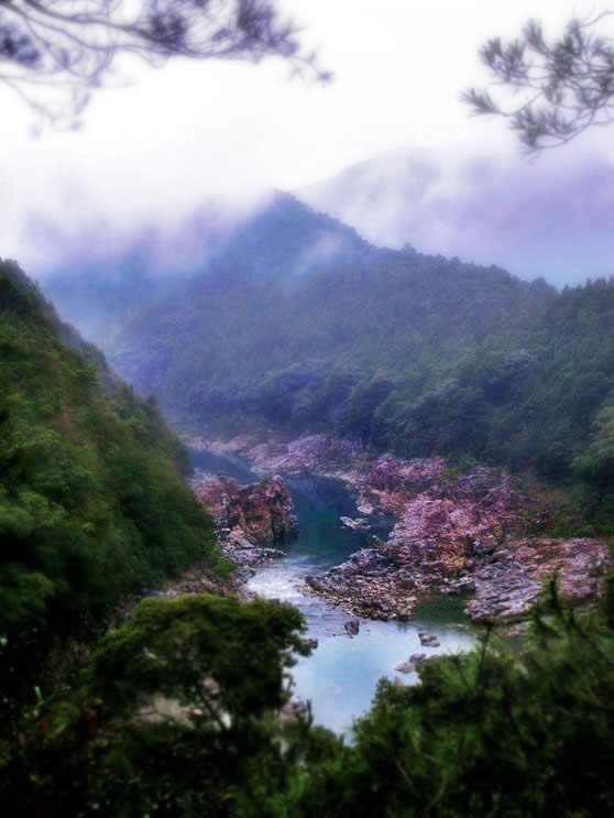 River in Wakayama-ken in Japan