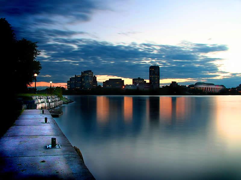 Ottawa River in Canada