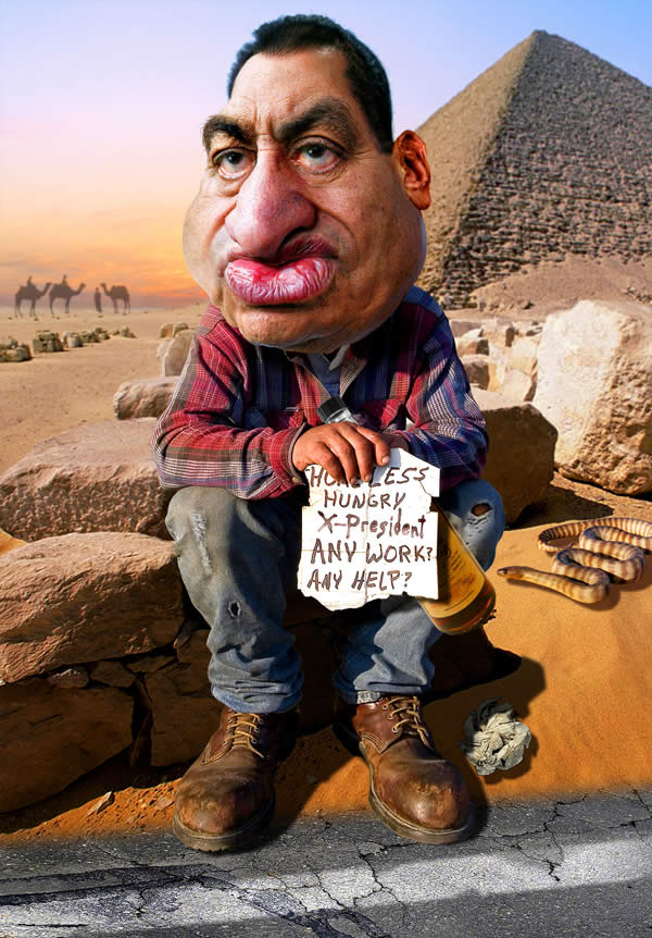 Hosni Mubarak - Job Hunting