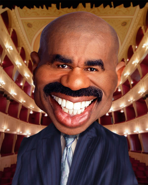 Steve Harvey at the Apollo