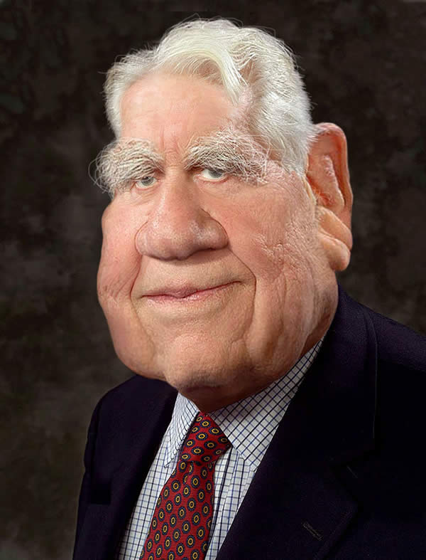 Caricature study - Andy Rooney