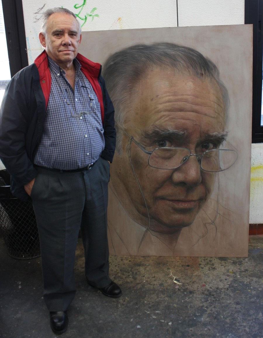 D. Enrique Ramos y Su Retrato