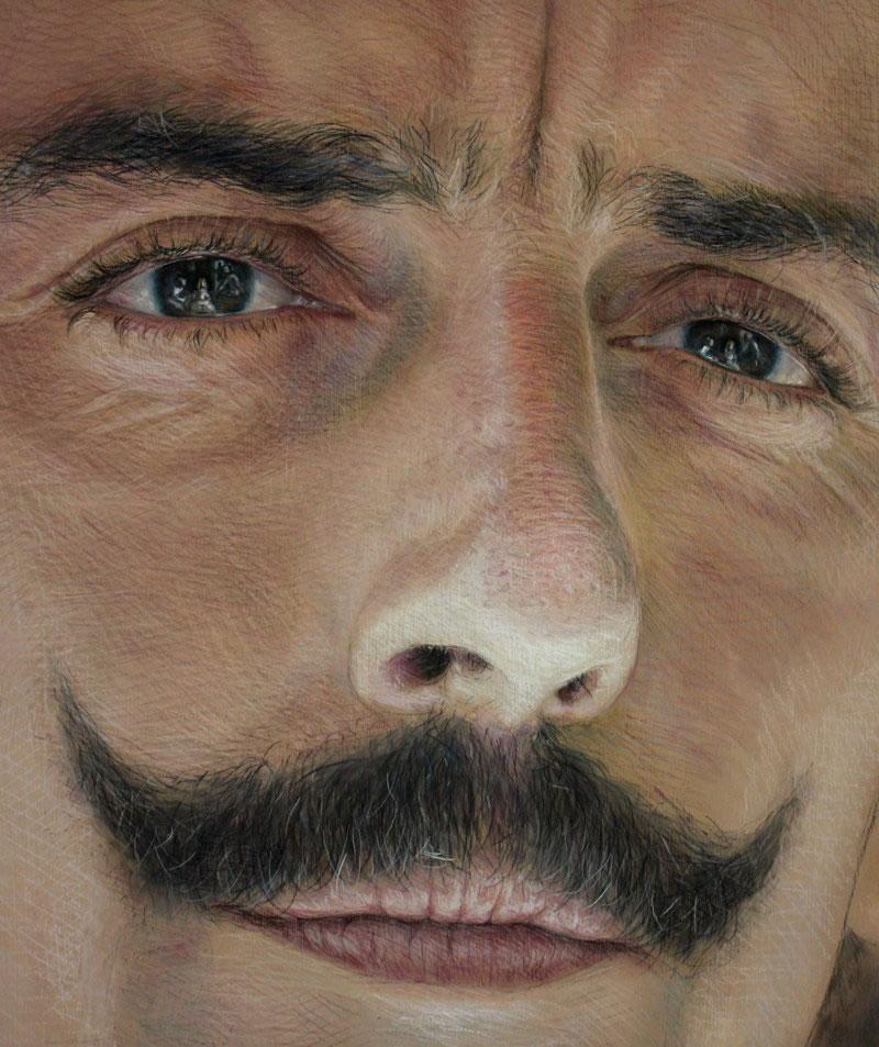 Velazquez Reflection in Eyes