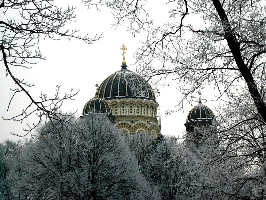 Russian Orthodox Domes