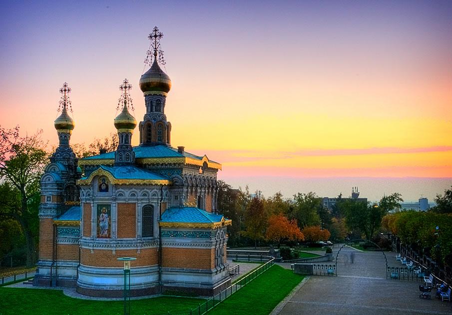 Russian Chapel - Darmstadt