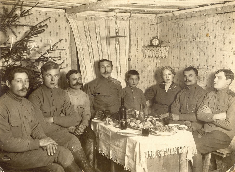 WWI Russian Soldiers
