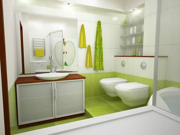 Apple Bathroom 2