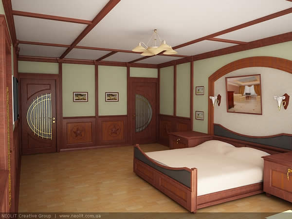 Clasic Bed Room