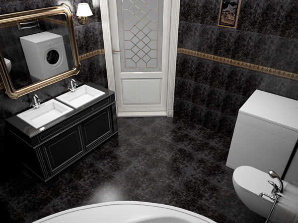 Bathroom Black 05