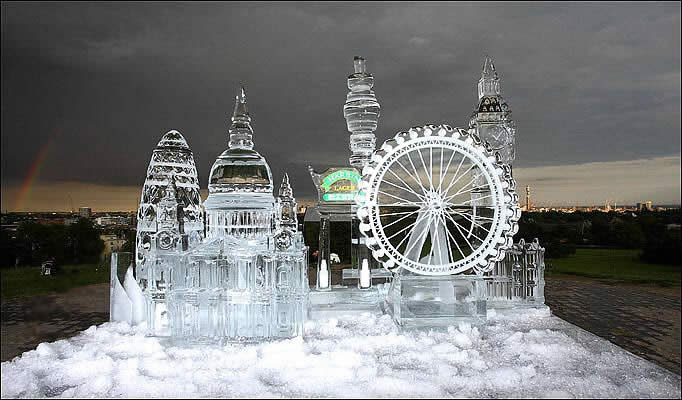Ice Sculpture of London